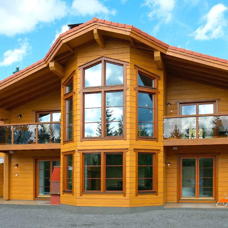 Constructeur de maison en bois massif en Alsace et Lorraine  1