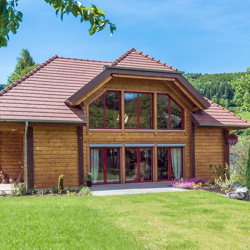 Constructeur de maison en bois massif en Alsace et Lorraine  2