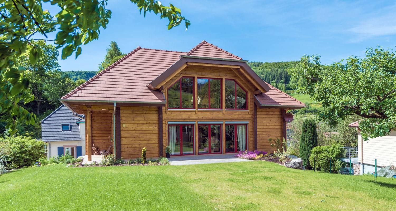 Maisons en bois massif