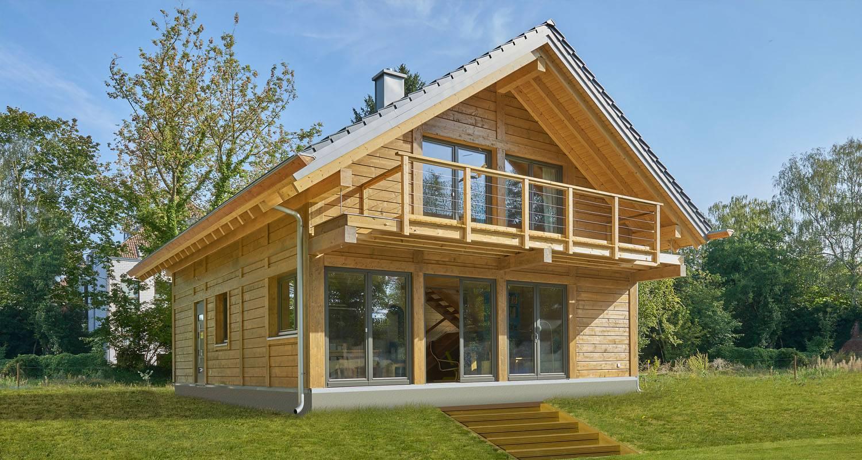 Constructeur de maison en bois massif en Alsace et Lorraine  5