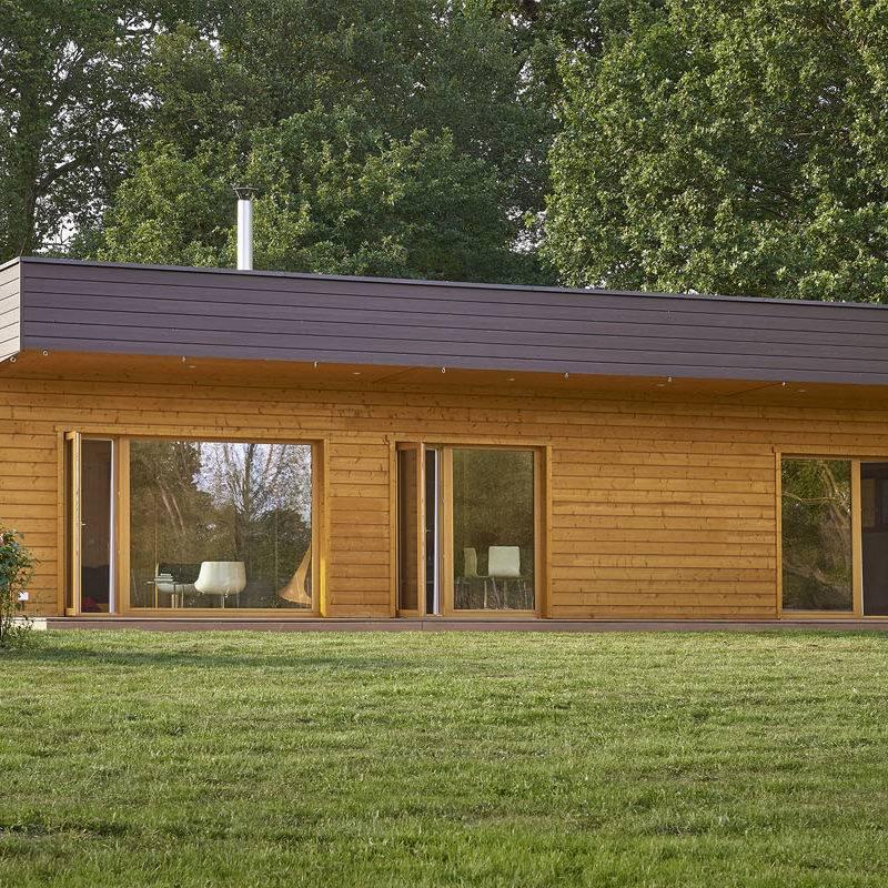Constructeur de maison moderne en bois massif en Alsace et Lorraine  2