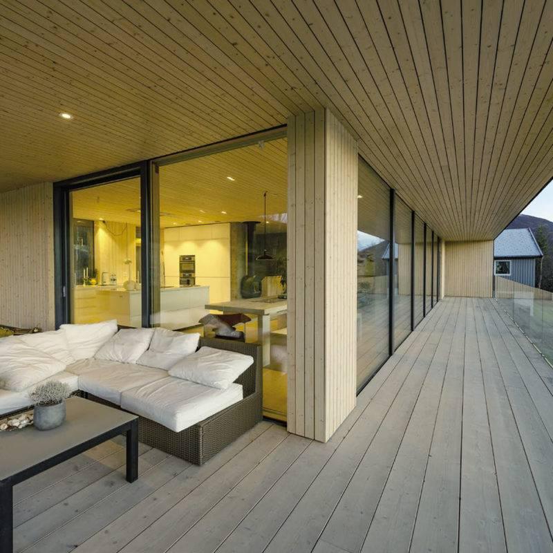 Constructeur de maisons en bois massif finlandaises en Alsace  1