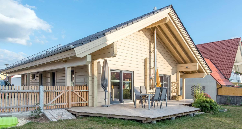 Maisons en bois massif  2