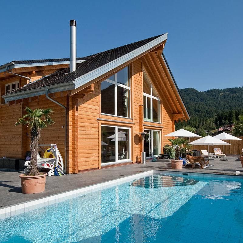 Constructeur de maisons en bois massif finlandaises en Alsace  6