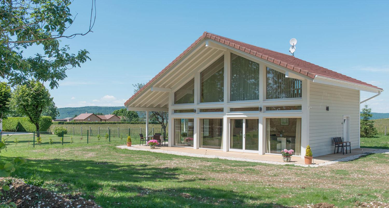 Maisons à ossature bois  1