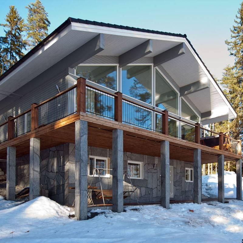 Constructeur de maisons en bois massif finlandaises en Alsace  4