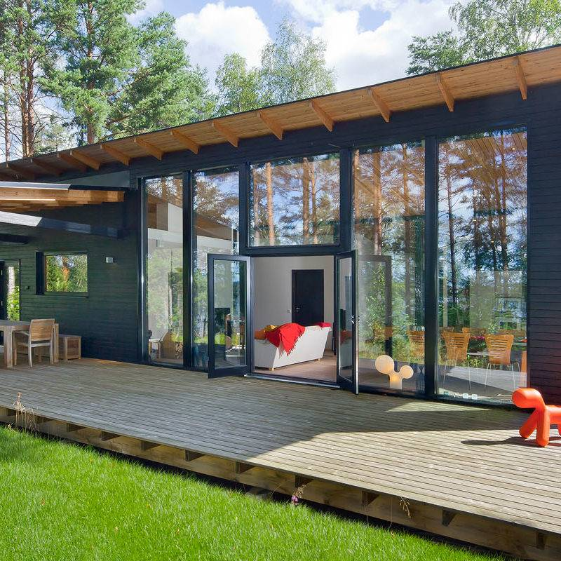 Constructeur de maisons en bois massif finlandaises en Alsace  5
